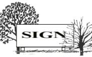 illustration of a ground sign 5