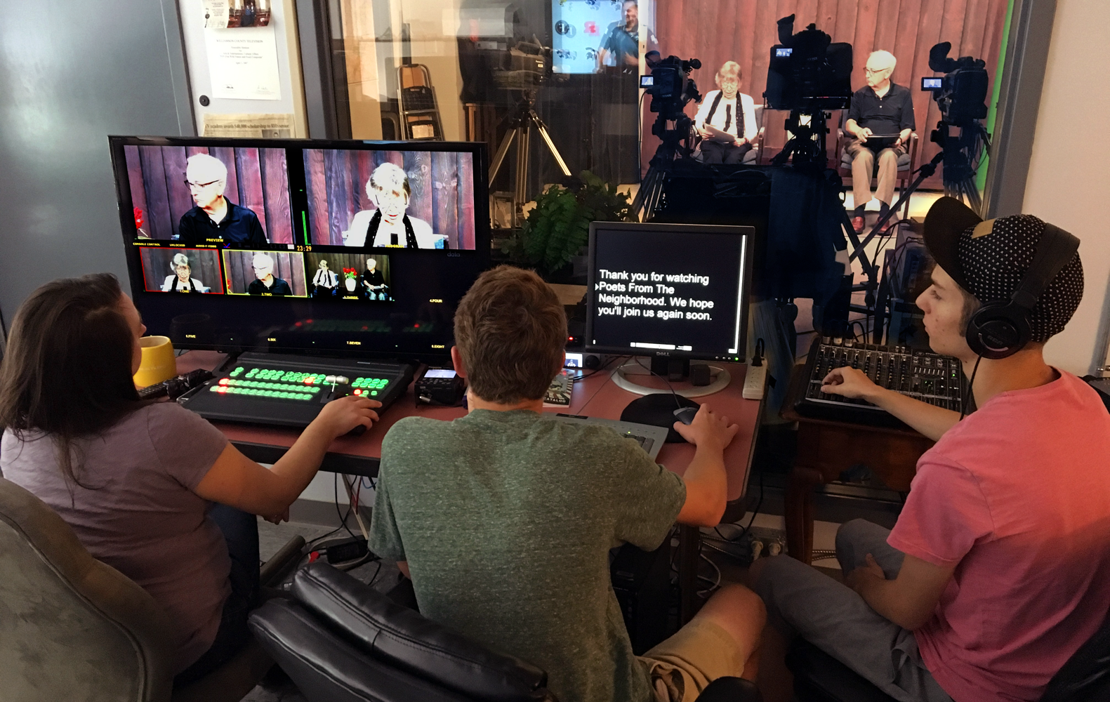 Heather Max Jack at work