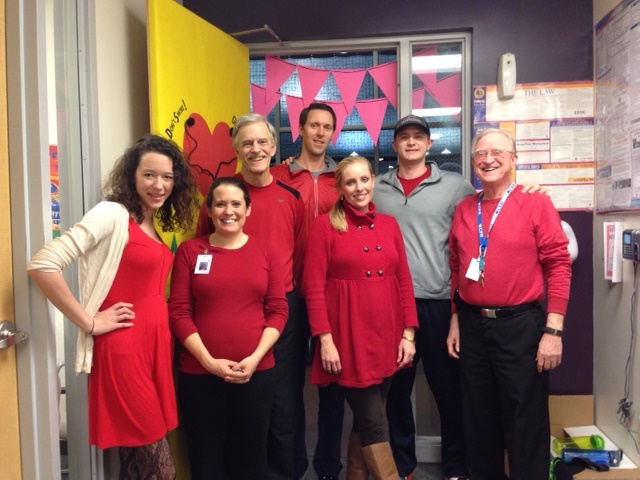 Indoor Sports Complex Staff Going Red